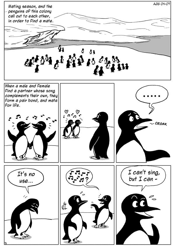 Penguins Don't Dance