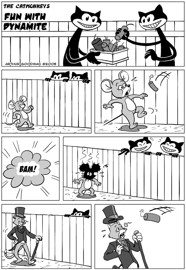 The Catmonkeys: Fun With Dynamite