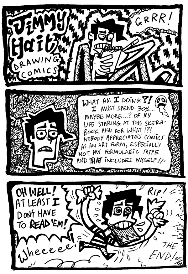 Jimmy Hait: Drawing Comics