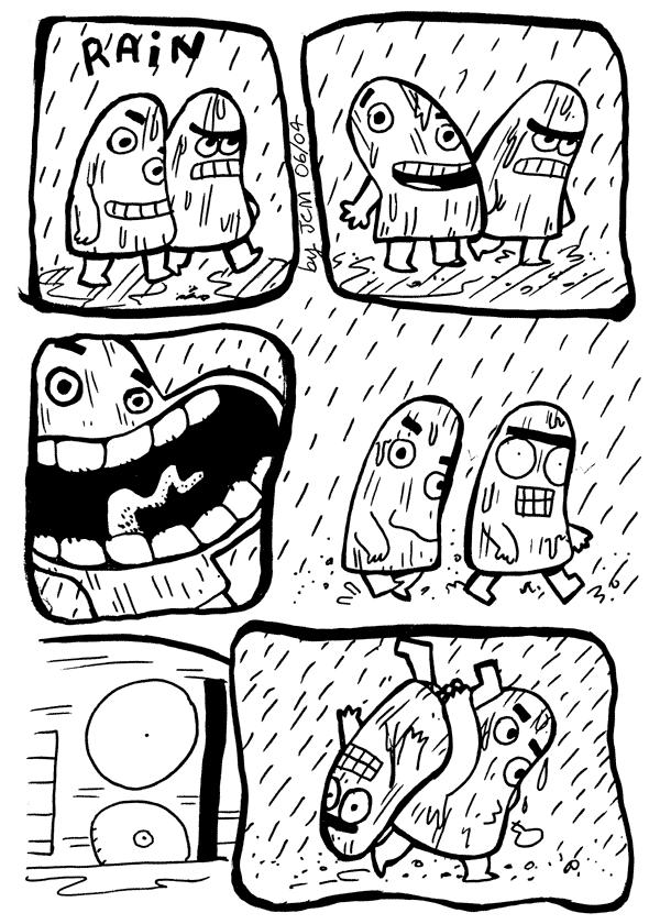 The Banana Bros: Rain