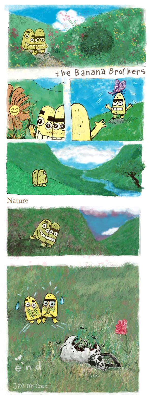 The Banana Bros: Nature